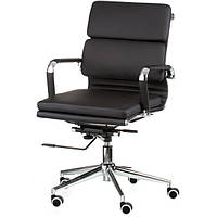 Крісло керівника Solano 3 artleather black E4800, фото 1