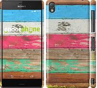 "Чехол на Sony Xperia Z3 D6603 Цветное дерево ""2712c-58"""