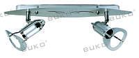 Настенно-потолочный светильник BUKO BK542, 547-2*40W R50 E14