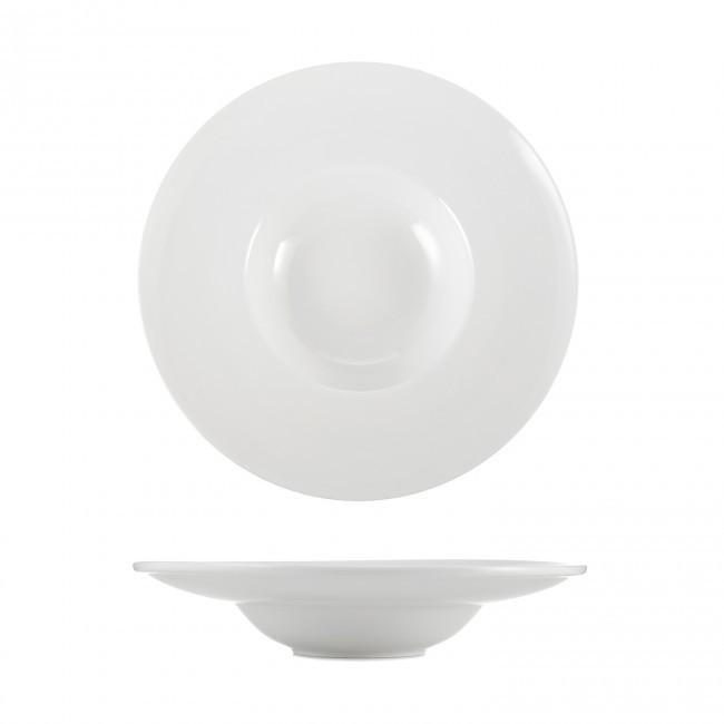 Тарелка для пасты HLS Extra white 400 мл (W116)