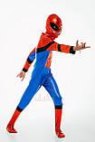 Детский карнавальный костюм для мальчика Спайдермен 122-128р, фото 2