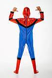 Детский карнавальный костюм для мальчика Спайдермен 122-128р, фото 3
