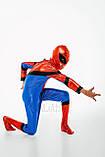 Детский карнавальный костюм для мальчика Спайдермен 122-128р, фото 4