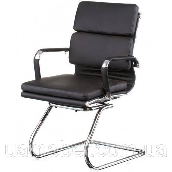 Конференционное кресло Solano 3 office artleather black E5920
