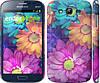"""Чехол на Samsung Galaxy Grand Duos I9082 разноцветные цветы 1 """"2271c-66"""""""