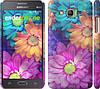 """Чехол на Samsung Galaxy Grand Prime G530H разноцветные цветы 1 """"2271c-74"""""""