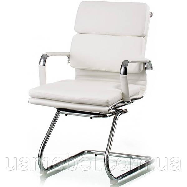 Крісло для конференцій Solano 3 office artleather white E5913