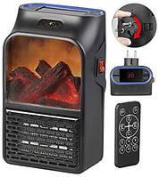 Компактный мини обогреватель-камин «Быстрое тепло» Flame Heaer, портативный обогреватель камин