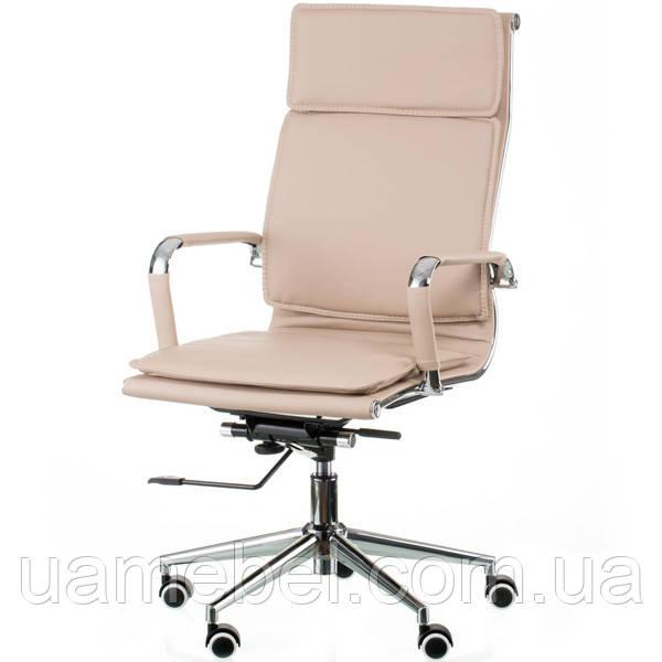 Кресло руководителя Solano 4 artleather beige E5852