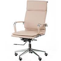 Кресло руководителя Solano 4 artleather beige E5852, фото 1