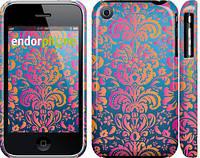 "Чехол на iPhone 3Gs Барокко хамелеон ""2020c-34"""