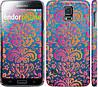"Чехол на Samsung Galaxy S5 Duos SM G900FD Барокко хамелеон ""2020c-62"""