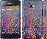 "Чехол на Samsung Galaxy S2 i9100 Барокко хамелеон ""2020c-14"""