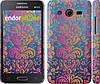 "Чехол на Samsung Galaxy Core 2 G355 Барокко хамелеон ""2020c-75"""