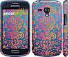 "Чехол на Samsung Galaxy S3 mini Барокко хамелеон ""2020c-31"""