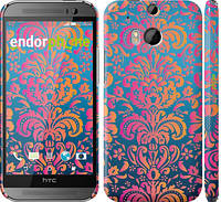 "Чехол на HTC One M8 Барокко хамелеон ""2020c-30"""