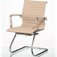 Кресло руководителя Solano artleather conference beige E5364, фото 1