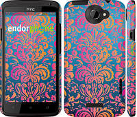 "Чехол на HTC One X+ Барокко хамелеон ""2020c-69"""