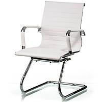 Конференц кресло Solano office artleather white E5876