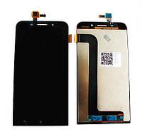 Дисплей для мобильного телефона Asus Zenfone Max/ZC550KL/Z010DA черный с тачскрином ORIG