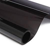 Плёнка для тонировки фар Чёрная темная 100х30 см