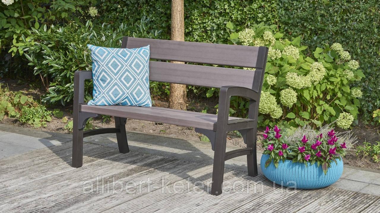 Набор садовой мебели Montero Triple Seat Bench из искусственного ротанга, фото 1