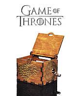 """Музыкальная шкатулка """"Game of Thrones - Игра Престолов"""" (Золотой Дуб Реверс)"""