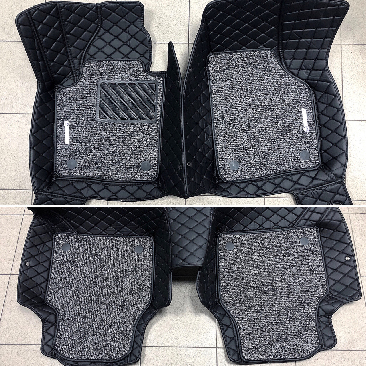 Комплект ковриков из экокожи для Volkswagen Passat B7