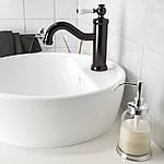 IKEA HAMNSKAR Смеситель для ванной, черный (103.472.13), фото 2
