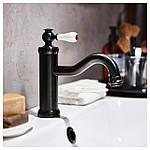 IKEA HAMNSKAR Смеситель для ванной, черный (103.472.13), фото 3