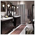IKEA HAMNSKAR Смеситель для ванной, черный (103.472.13), фото 4