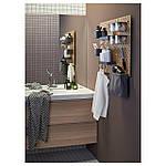 IKEA LUNDSKAR Смеситель для ванной, хром (402.400.17), фото 4
