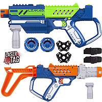 Детское оружие для лазерных боев Silverlit Lazer M.A.D. Делюкс набор LM-86848