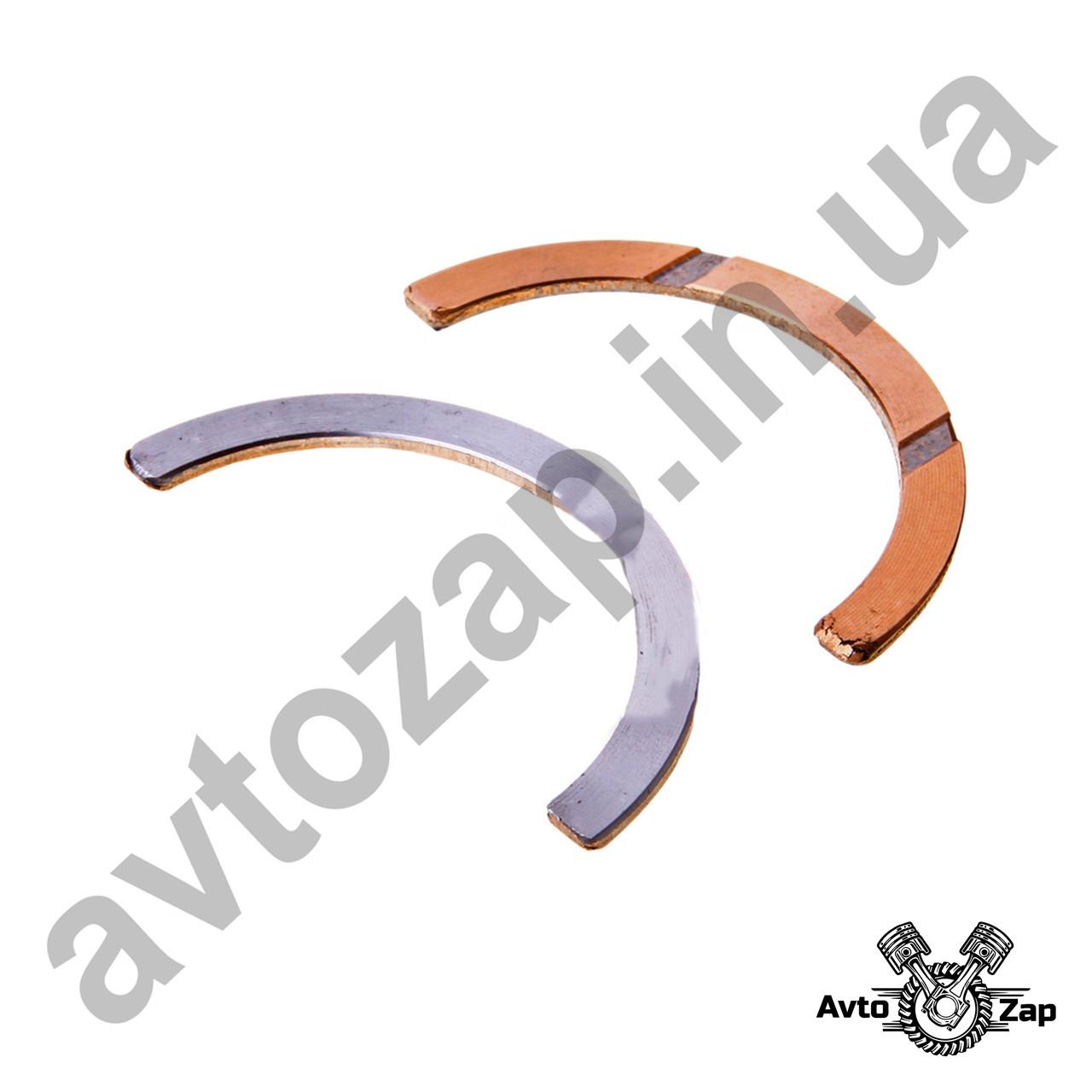 Полукольцо вала коленчатого  ВАЗ 2101-07 (Стандарт 2,3) к-т.     02567