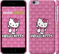 "Чехол на iPhone 6 Hello kitty. Pink lace ""680c-45"""