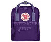 Рюкзак фиолетовый Fjallraven Kanken Mini Purple Violet 7л