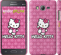 "Чехол на Samsung Galaxy Grand Prime G530H Hello kitty. Pink lace ""680c-74"""