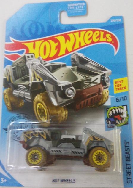 Машинка Hot Wheels 2019 Bot Wheels