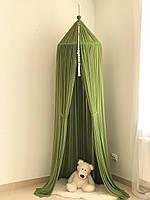 Балдахин-шатер Twins green