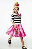 Детский карнавальный костюм для девочки Куклы LOL Леди Свинг 122-128р, фото 4