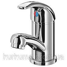 IKEA OLSKAR Смеситель для ванной, хромированный (702.177.51)