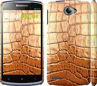 """Чехол на Lenovo S920 Кожа крокодила """"1108c-53"""""""
