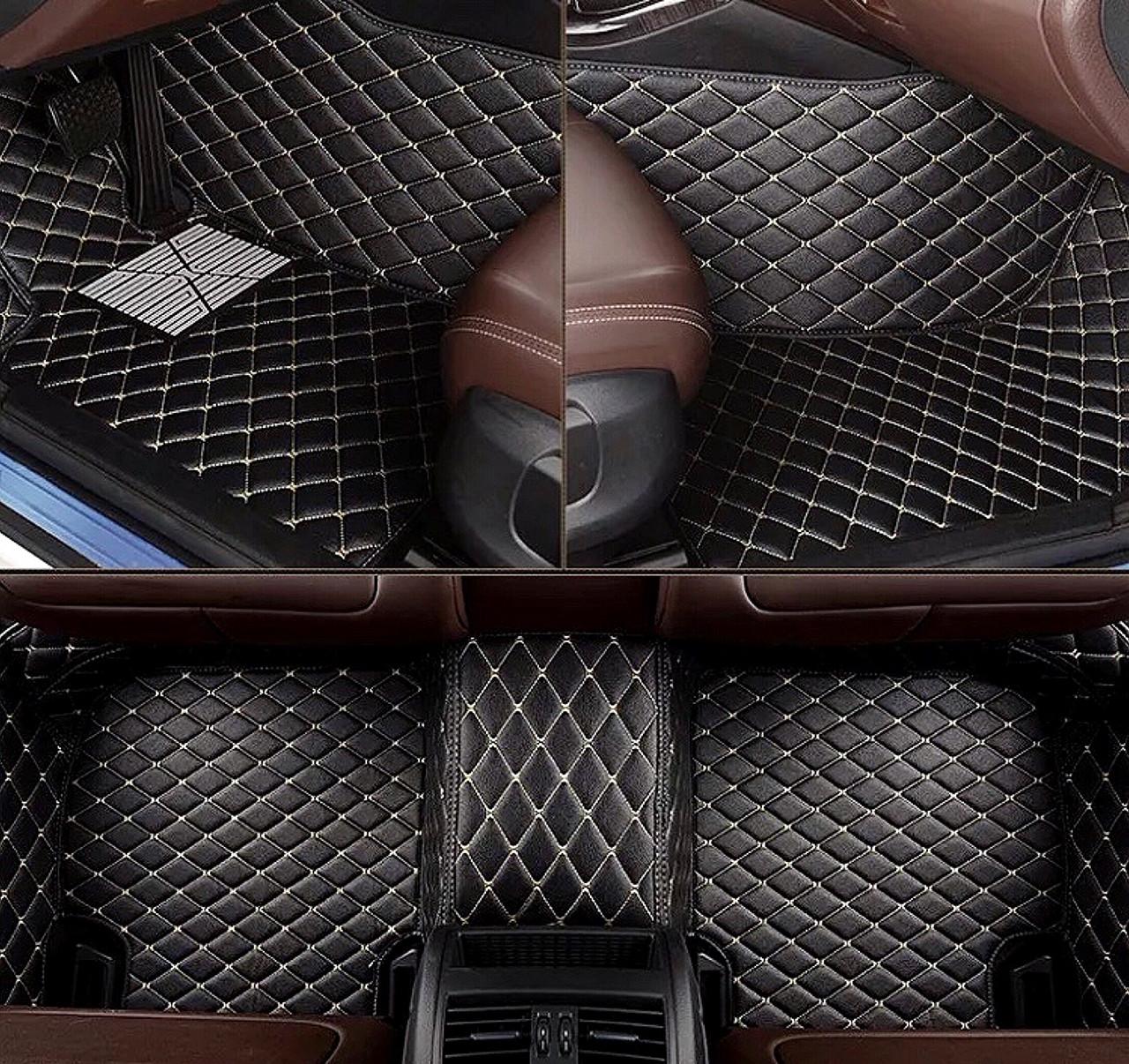 Комплект ковриков из экокожи для Mazda CX-9, на 5 мест