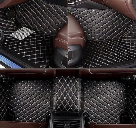 Комплект ковриков из экокожи для Mazda CX-9, на 5 мест, фото 2