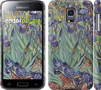 "Чехол на Samsung Galaxy S5 mini G800H Винсент Ван Гог. Ирисы ""161c-44"""