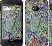 """Чехол на HTC One M7 Винсент Ван Гог. Ирисы """"161c-36"""""""
