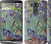 "Чехол на LG G3 D855 Винсент Ван Гог. Ирисы ""161c-47"""