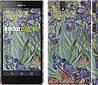 """Чехол на Sony Xperia Z C6602 Винсент Ван Гог. Ирисы """"161c-40"""""""
