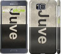 "Чехол на Samsung Galaxy Alpha G850F Ювентус ""2778c-65"""
