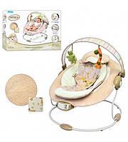Детский шезлонг - качалка для новорожденных (60683)